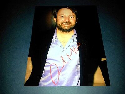 "DAVID MITCHELL PP SIGNED 10""X8"" PHOTO REPRO COMEDY PEEP SHOW"