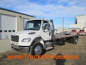 2015 Freightliner M2106, 21 Ft DECK!!!