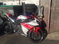 THOUSANDS WORTH OF EXTRAS, LOW MILEAGE, YAMAHA YZF-R1 2012 50th ANNIVERSARY EDITION,
