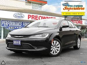 2015 Chrysler 200 LX***local trade in***