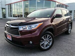 2015 Toyota Highlander XLE-LEATHER+SUNROOF!!!