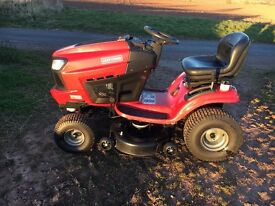 Craftsman ride on lawn mower for sale