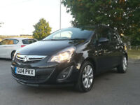 VAUXHALL CORSA 1.2 PETROL 2014 EXCITE 12 MONTH MOT LOW MILEAGE 26,000 MILEAGE ONLY !