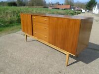 Lovely Retro Teak Sideboard Danish / G-Plan Style Fully Restored Delivery Available