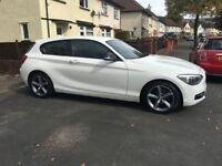 BMW 1 series 2.0l 116d sport - white