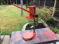 Black and decker drill stand