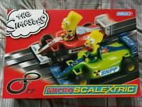 The Simpson's Scalextric