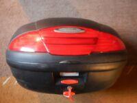 Givi motorbike topbox