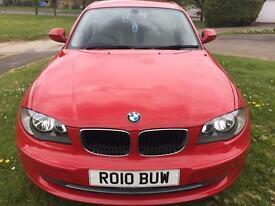 BMW 1 Series 118D Sport, Red, Leather, 5 Door