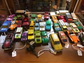 Lots of mid century dinky toys / and matchbox etc