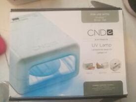 CND UV nail lamp