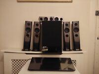 Sony BDV-N7200 (Black) 5.1 Blu-ray Package System inc. Speakers