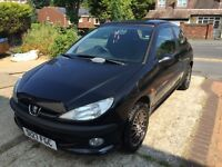 Peugeot 206 1.6 XS 3dr (electric sunroof)