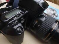 EOS 500 wet fim camera and Canon 35-80 Lens