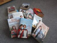 A LOAD OF WOMENS ROMANCE BOOKS.