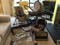 Pram - Mama and Papas Ultima Travel System - X-Cel chassis