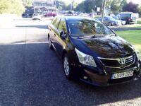 2009 REG AVENSIS 2.2 DIESEL 150 KW EXCELLENT CHEAP CAR 3400