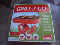 Grill 2 Go from calor gas, Barbecue anywhere, new, never used & boxed, only £15 fixed price