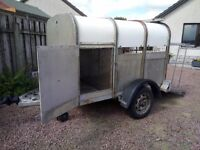 Ifor Williams livestock trailer 6x4x4