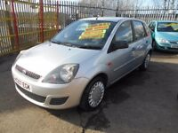 ford fiesta 1.4 style climate 5dr 2007 facelift model,1 former keeper,service history,like new paint