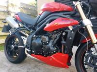 2015 TRIUMPH SPEED TRIPLE 1050 ABS ONLY 829 MILES!