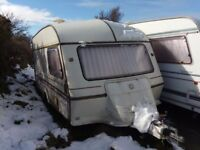 2 berth GXL Rallyman caravan, excellent condition outside and interior