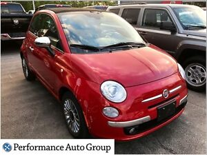 2012 Fiat 500C Lounge * Convertible * Leather * Bluetooth