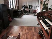 Beautiful Recording Studio / Rehearsal Room, East London
