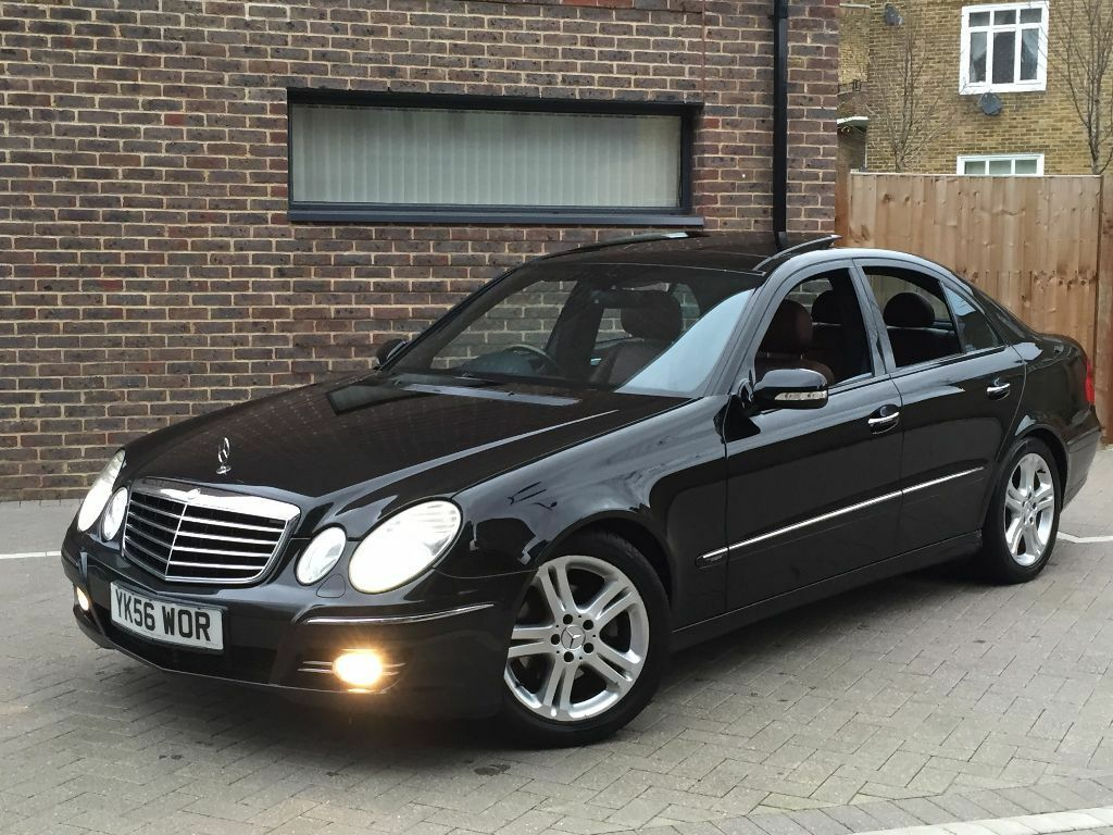 2006 mercedes benz e320 cdi avant garde auto black panoramic roof in london bridge london. Black Bedroom Furniture Sets. Home Design Ideas