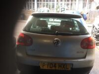 04 VW GOLF MK5 1.6 PETROL AUTO THIS CARS FOR PARTS FOR ANY PARTS CALL ON