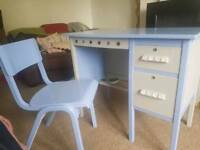 Upcycled 1950's Desk