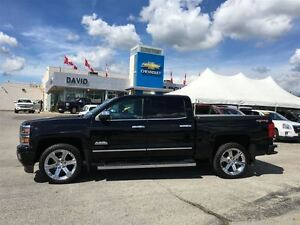 2015 Chevrolet Silverado 1500 HIGHCOUNTRY CREW 4WD, NAVIGATION,