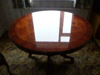 Dining Table & Caver Dining Chairs