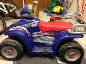 Polaris 400 Quad Bike