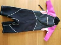 Children's wetsuit (short legs and arms)