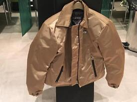 Frank Thomas Ladies Woman's Motorcycle Jacket Textile Size 14