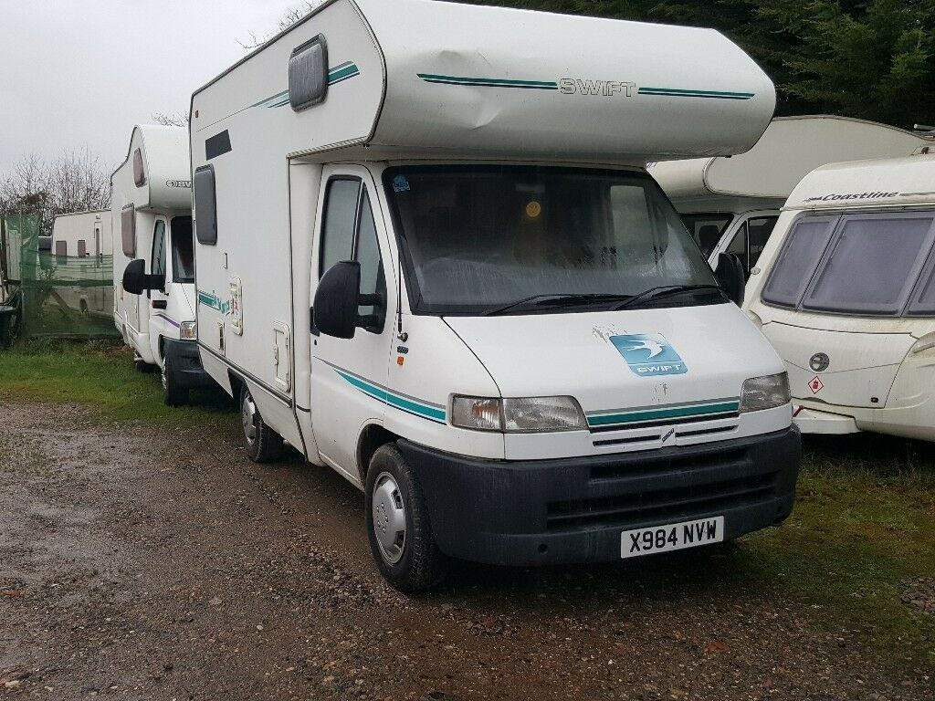 2000 swift sundance 500 motorhome on fiat ducato chassis for Interieur fiat ducato 2000