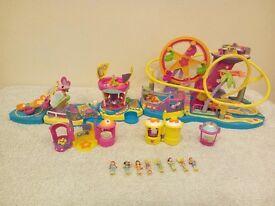 Polly Pocket Amusement Park Vintage FULLY WORKING RARE!!