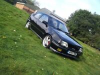 1990 ASTRA GTE MK2 2.0 16V RED TOP VERY CLEAN SOLID EXAMPLE NEW MOT