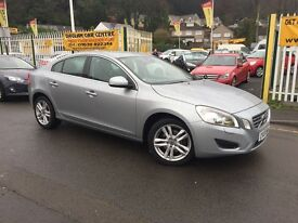 VOLVO S60 1.6 D2 SE Lux 4dr (start/stop) (silver) 2013