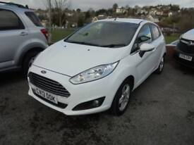Ford Fiesta 2013 White 5 door