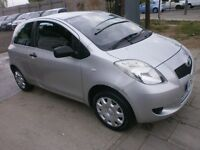 2007 TOYOTA YARIS 1.0VVT 3DOOR,HATCHBACK, SERVICE HISTORY, NEW CLUTCH, HPI CLEAR, DRIVES LIKE NEW