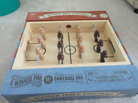 Fabulous Marks & Spencer Wooden Table FOOTBALL - New & Boxed - Ideal Gift