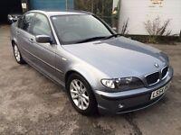 BMW 318d ES Saloon 2.0 DIESEL, 04/54 Reg, MOT 29th Nov, Full Service History, 5 Dr Sal, Silver Grey