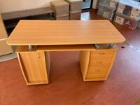 Desk with cupboard and drawers