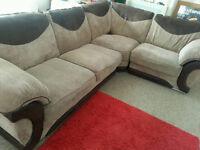 lovely corner sofa - very tidy and very comfy - modular - Can deliver