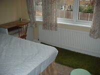 DOUBLE ROOM FOR QUIET PROFESSIONAL MALE, COMPLETE NON-SMOKER. Tranquil, upmarket area
