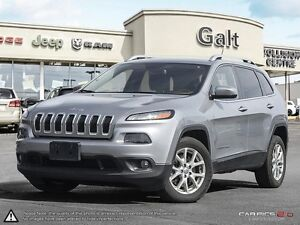 2014 Jeep Cherokee LATITUDE   6 CYL   ALLOY'S   COLD WEATHER GRO