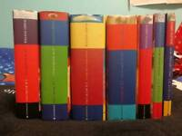 Harry Potter 7 book collection with original cover designs