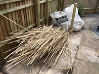 Free kindling and fire wood from broken pallets
